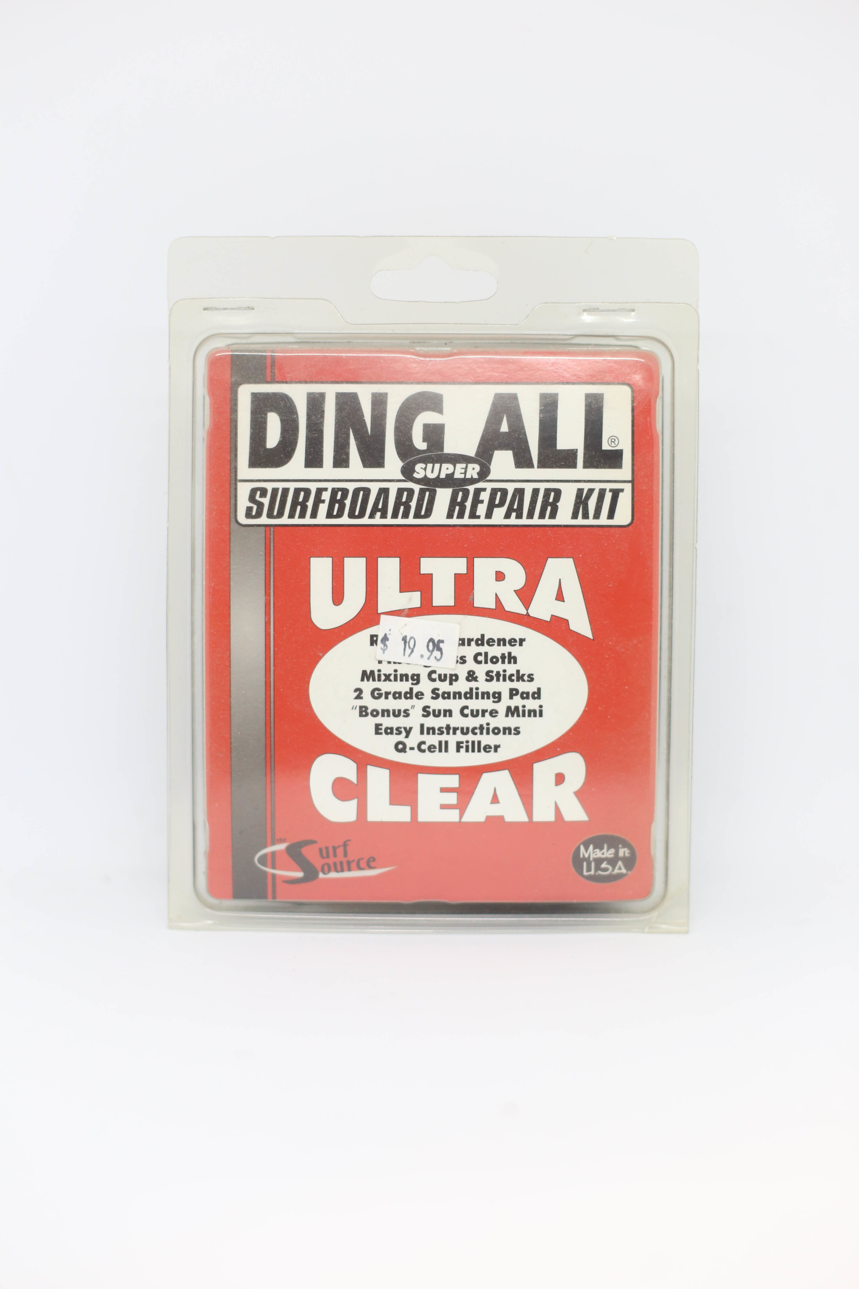 Ding All Super Surfboard Repair Kit (Ultra Clear)